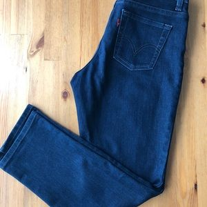 Levi's 512 Skinny Straight Jeans